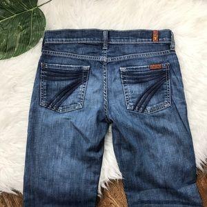 Seven 7 For All Mankind • Dojo Flare Trouser Jeans